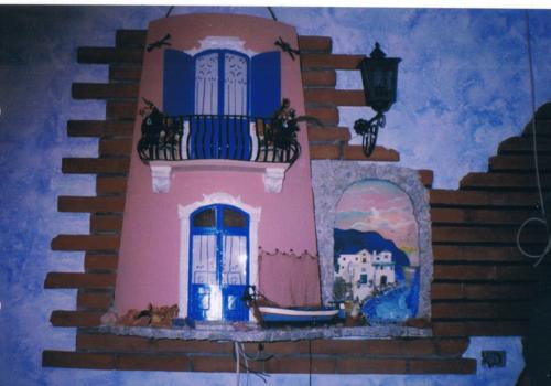 Tegola in rilievo, grande per parete