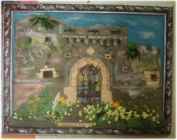 Quadro in rilievo, castello di Milazzo
