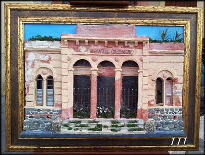 Quadro in rilievo, Scuola Infantile Calcagno Milazzo