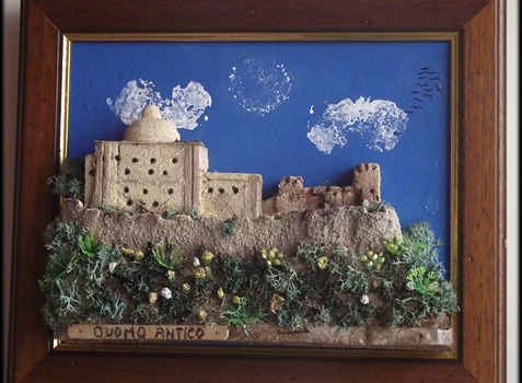 Quadro in rilievo, castello di Milazzo, Duomo Antico