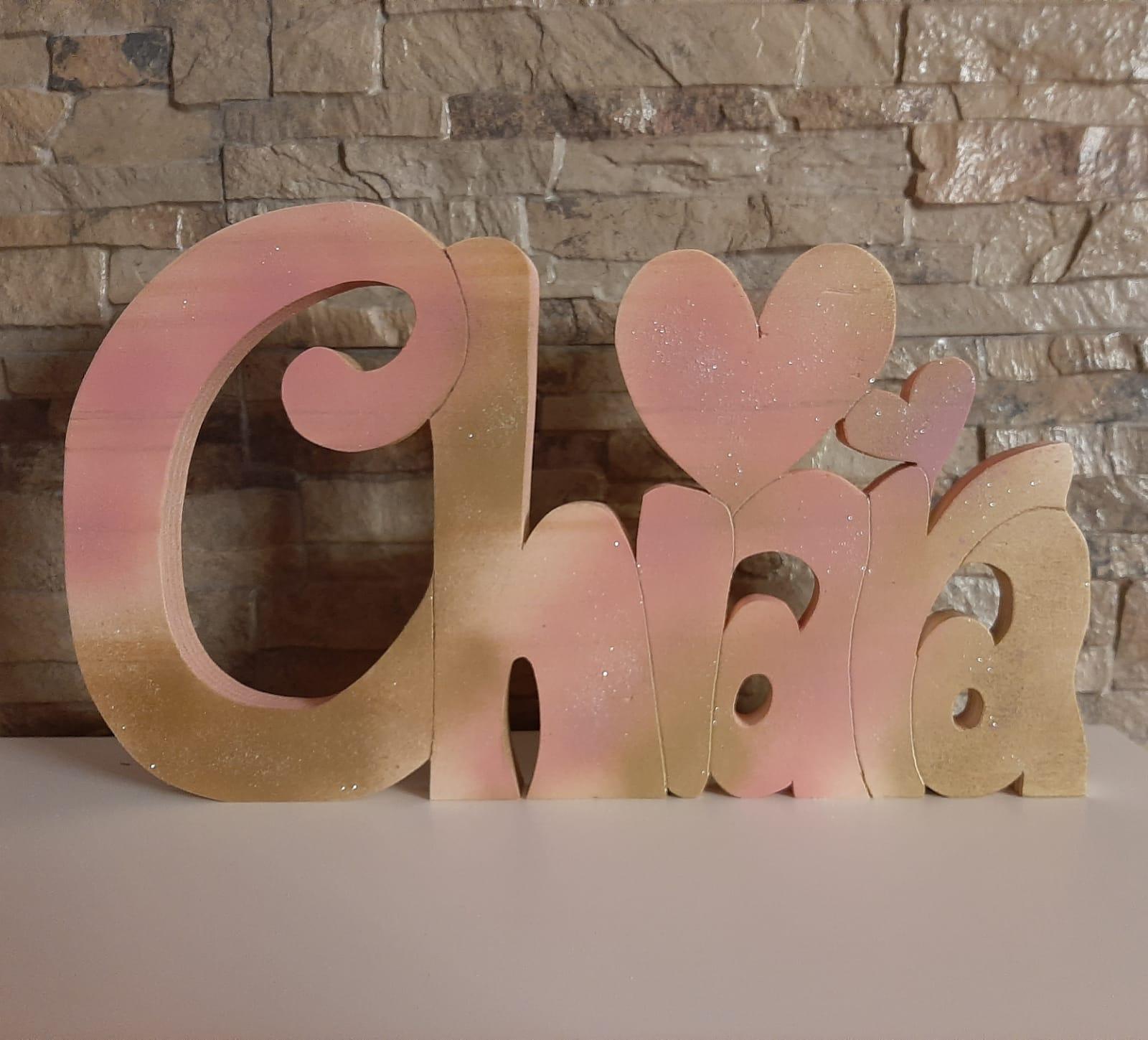 scritta personalizzata il legno