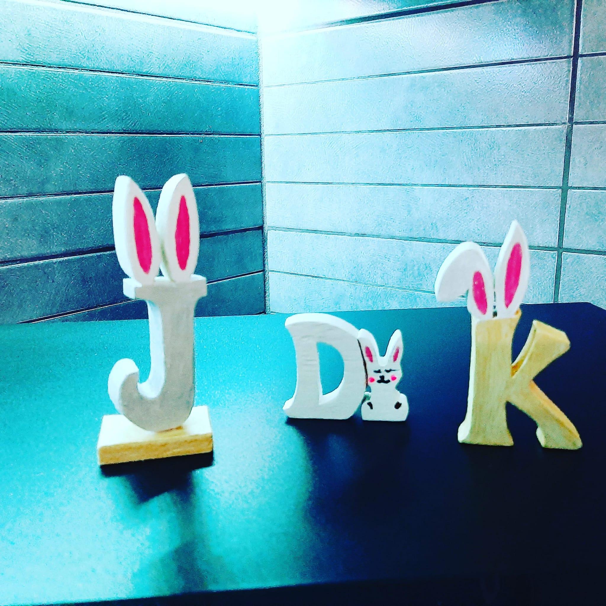 lettere in legno personalizzate
