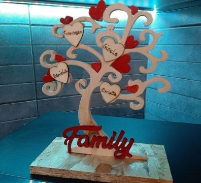 albero della vita in legno personalizzato
