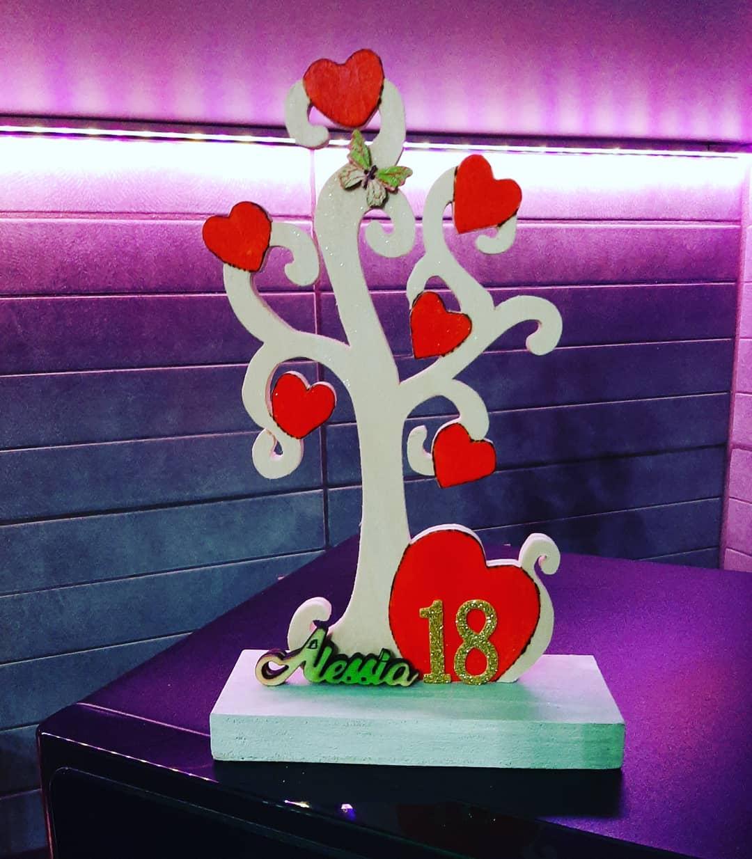 albero della vita con scritta