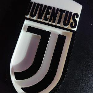 logo fc juventus in 3d