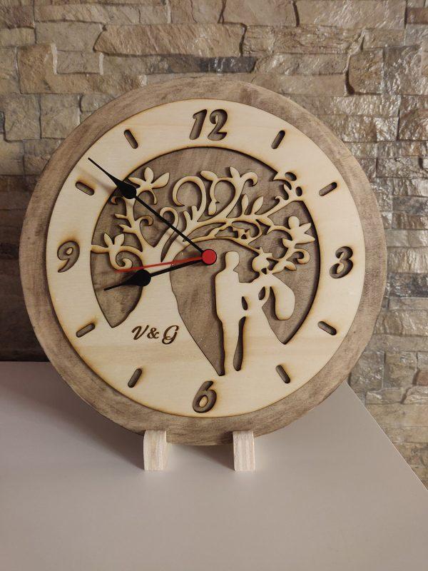 orologio legno personalizzato