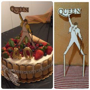 cake topper legno personalizzato