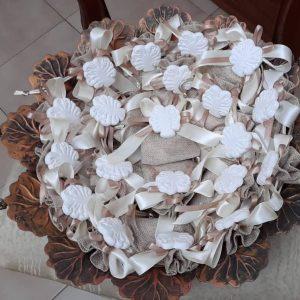 bomboniere albero della vita in porcellana